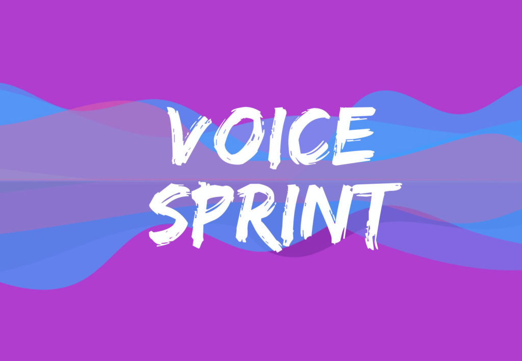 Voice sprint definition