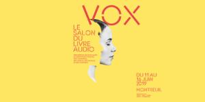 VOX le premier salon du livre audio