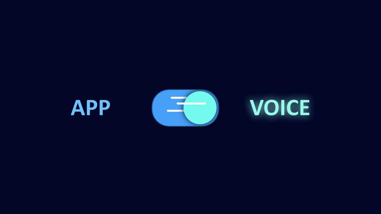 app mobile vs app vocale