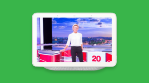 Google nest Hub France TV