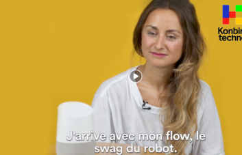 Lauren Google Assistant personnalité konbini techno