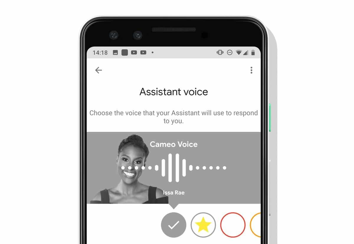 Google Assistant Vocal