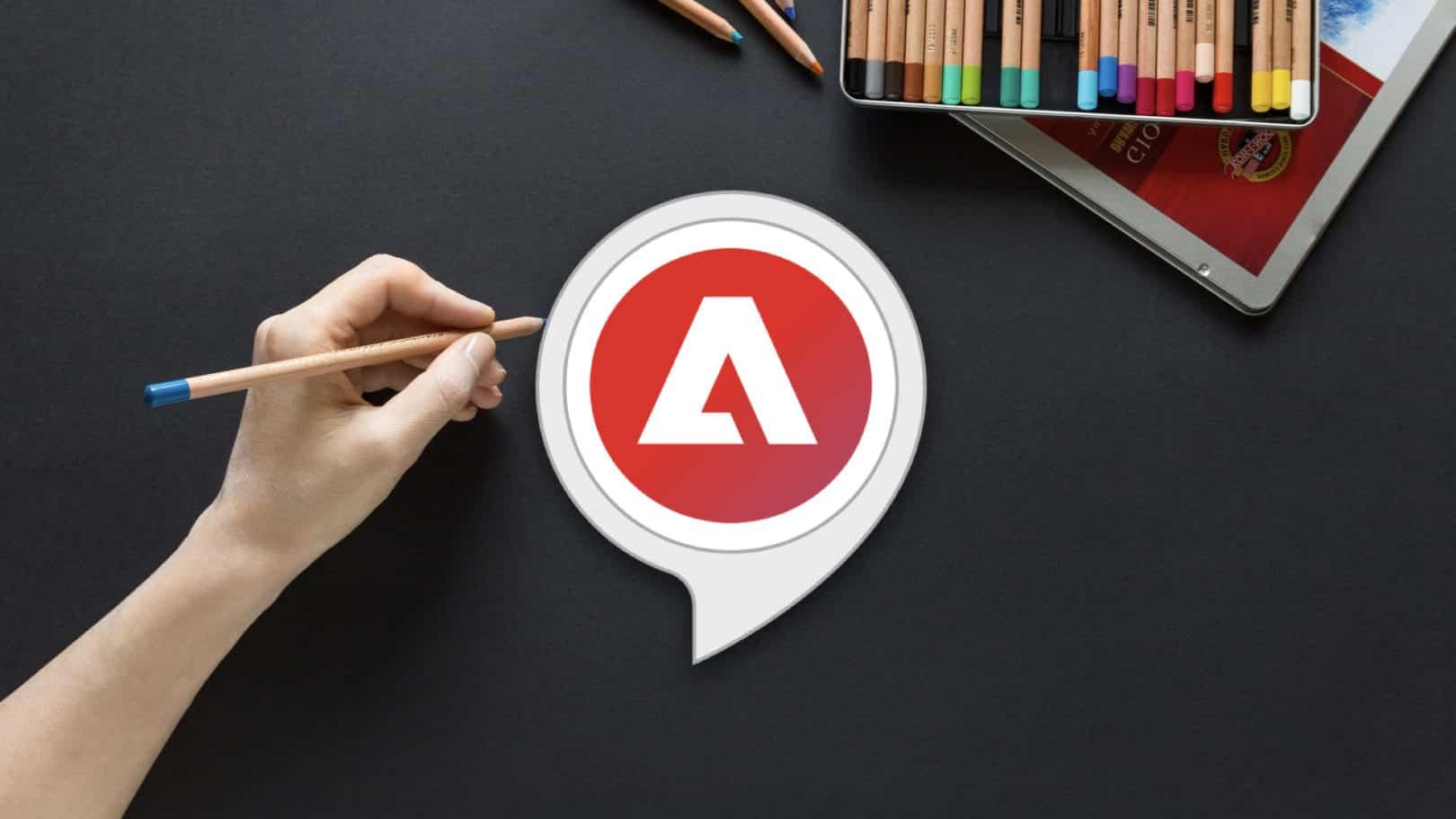 Adobe dévoile une appli Alexa destinée à cultiver la créativité