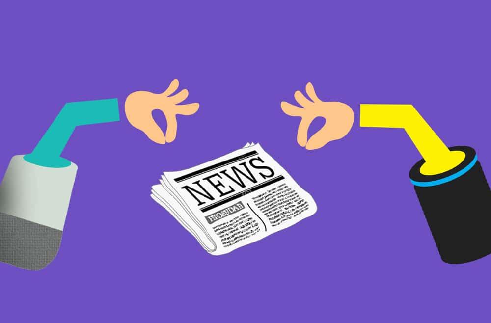 revue de presse assistants vocaux