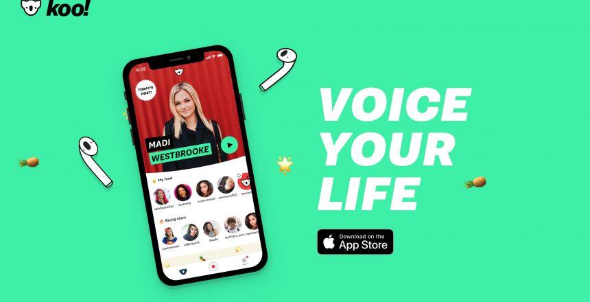 Koo réseau social vocal