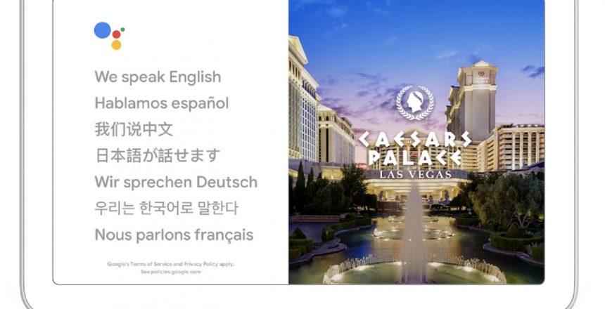 Google Assistant Interprete 27 langues